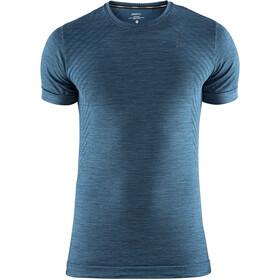 Craft Fuseknit Comfort Roundneck Shortsleeve Shirt Men fjord melange